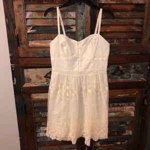 NWT American Eagle White Eyelet Lace Dress